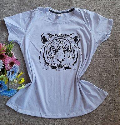 Blusa Feminina Para Revenda Tigre Rosto