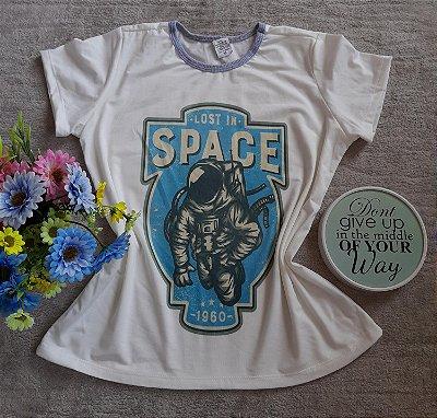 Blusinha Feminina no Atacado Astronauta