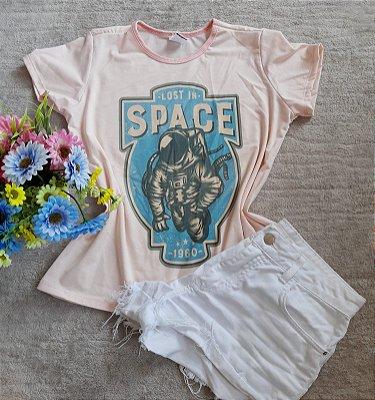 Blusa Feminina no Atacado Astronauta