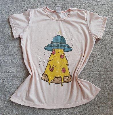 TShirt Feminina Para Revenda Nave Pizza
