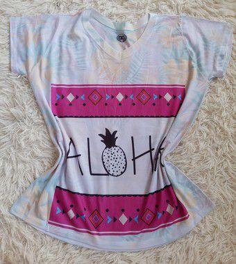 Tee Feminina Para Revenda Aloha
