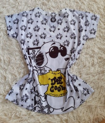 Blusa Feminina no Atacado Snoopy Joe Cool