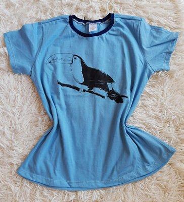 T-Shirt Feminina Para Revenda Tucano