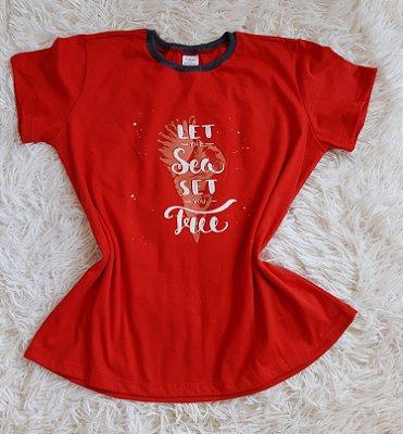 TShirt Blusa Feminina Para Revenda Concha