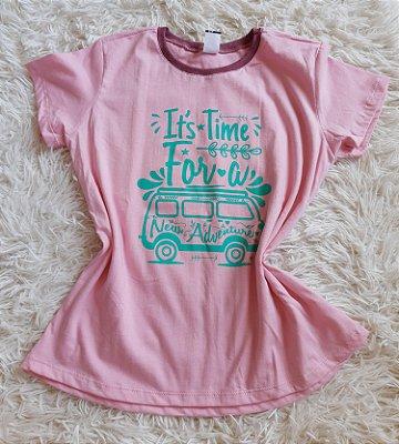 T-Shirt Feminina Para Revenda Kombi