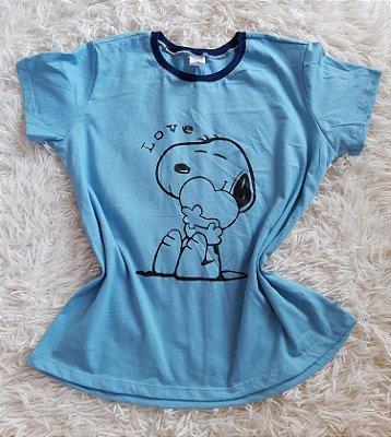 Tee Feminina no Atacado Snoopy