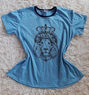 T shirt Feminina no Atacado Leão