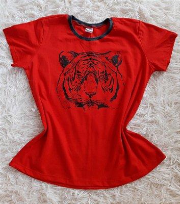 Blusa Feminina no Atacado Tigre Rosto