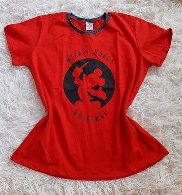 T-shirt Feminina no Atacado Mickey Original