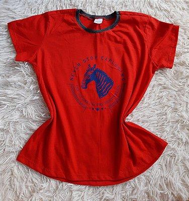 T Shirt Feminina Para Revenda Zebra