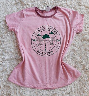 T-Shirt Feminina Para Revenda Explore
