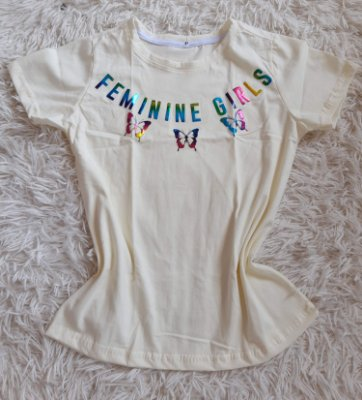 Tee Feminina No Atacado Feminine Girls