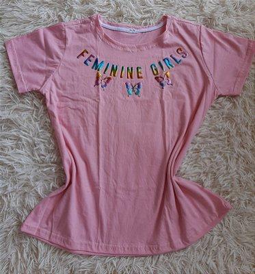 T-Shirt Feminina No Atacado Feminine Girls
