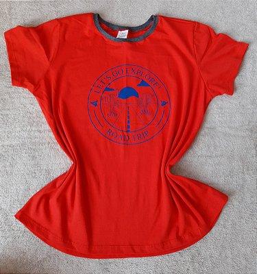 T Shirt Feminina no Atacado Explore