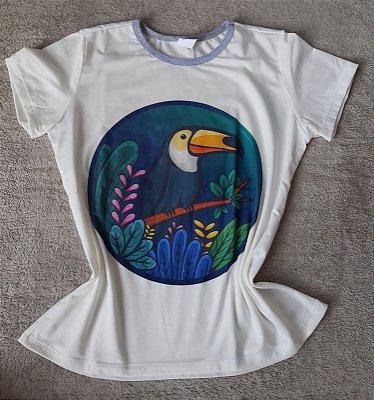 T-Shirt Feminina no Atacado Tucano
