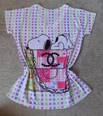 Blusa Feminina Para Revenda Snoopy