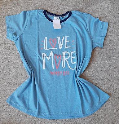 T-Shirt Feminina no Atacado Love More