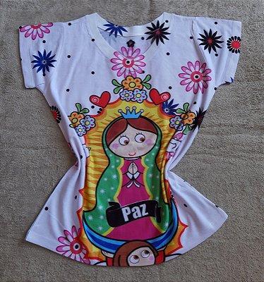 T-Shirt Feminina no Atacado Santa