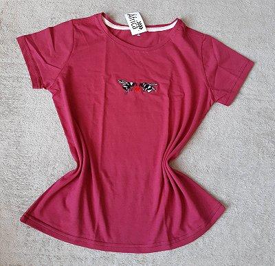 T Shirt Feminina Para Revenda Abelhas Coração