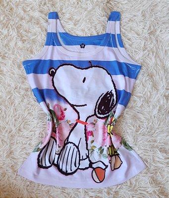 Regata Feminina no Atacado Snoopy Grande