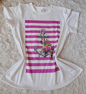 T-shirt Feminina no Atacado Âncora