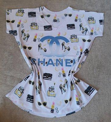 T-Shirt Feminina no Atacado Chanel