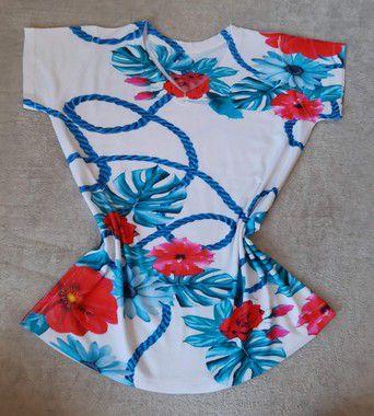 Blusa Feminina Para Revenda Flores e Cordas