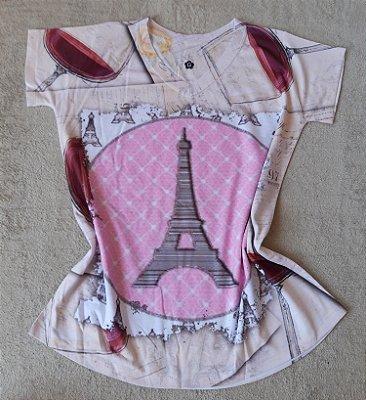 Tee Feminina no Atacado Paris Torre