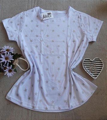 T-Shirt Feminina Para Revenda Estrelas