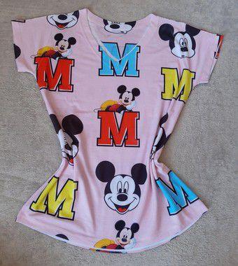 Tshirt Feminina no Atacado Fundo Mickey