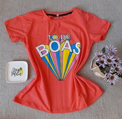 T-Shirt Feminina no Atacado To de Boas