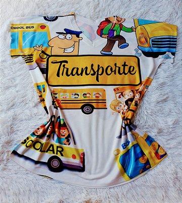 T-shirt Profissão no Atacado Transporte Escolar