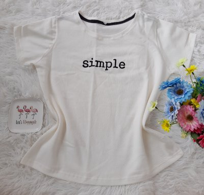 Tee Feminina Para Revenda Simple