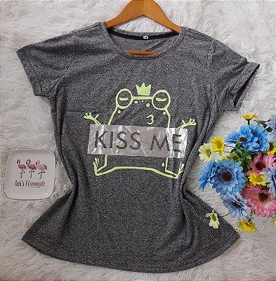 TShirt Feminina Para Revenda Kiss Me