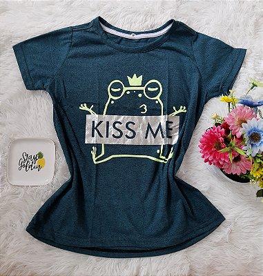 Tee Feminina Para Revenda Kiss Me