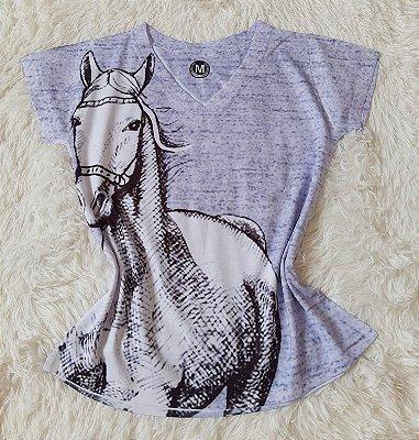 T-Shirt Feminina no Atacado Cavalo