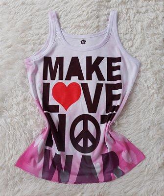 Regata Feminina no Atacado Make Love Not War