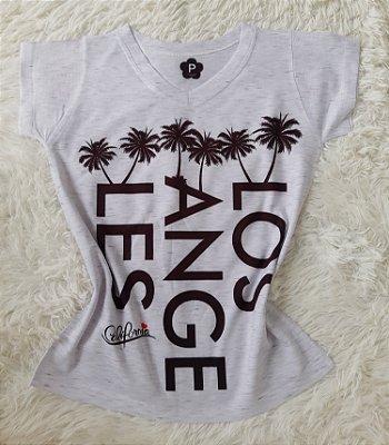 T-Shirt Feminina no Atacado Los Angeles