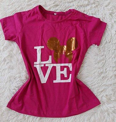 Blusa Feminina no Atacado Love Mickey