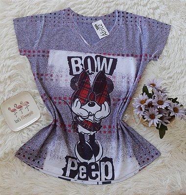 T shirt Feminina no Atacado Minnie