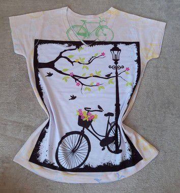 TShirt Feminina no Atacado Bike