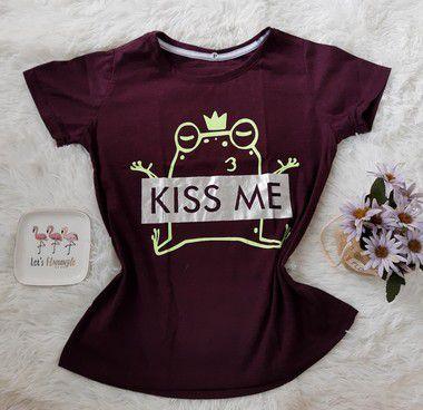 Blusinha Feminina no Atacado Kiss Me