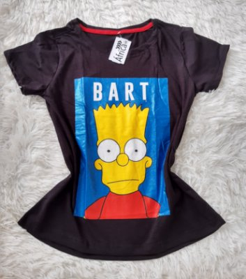 T Shirt Feminina No Atacado Bart
