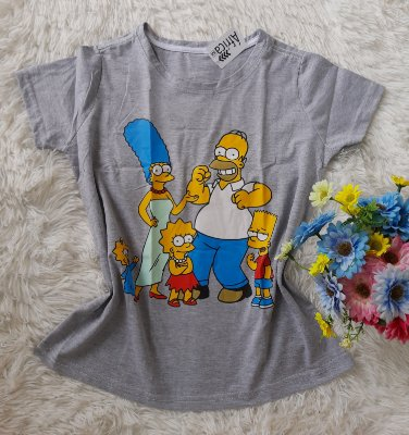 T Shirt Feminina No Atacado Os Simpsons
