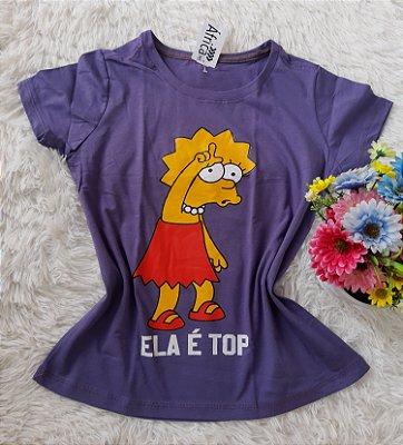 T Shirt Feminina Para Revenda Lisa Grande