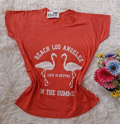 Blusa Feminina Para Revenda Flamingos