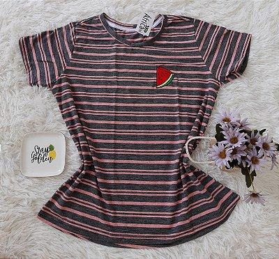 T-Shirt Feminina no Atacado Melancia