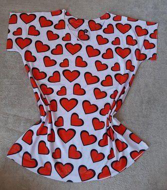 T-Shirt Feminina no Atacado Corações
