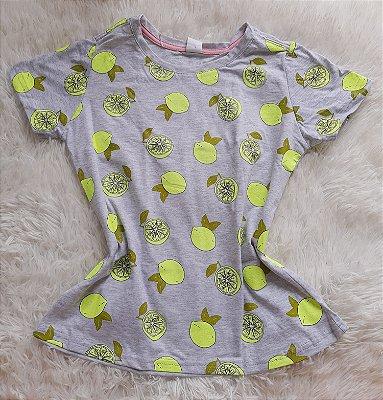 T-Shirt Feminina no Atacado Limão
