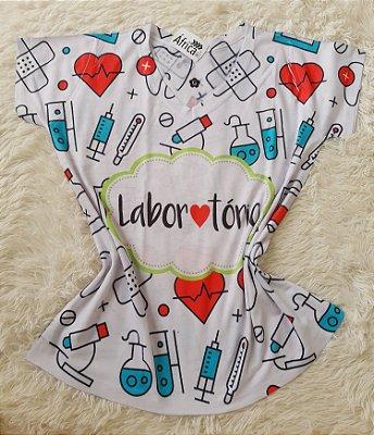 T shirt Feminina no Atacado Laboratório